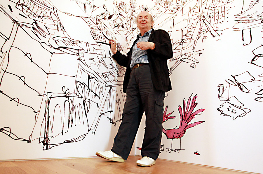 Quentin Blake exhibition - London